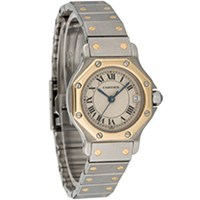 SANTOS DE CARTIER QUARTZ LADIES